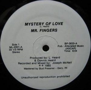 Mr. Fingers ‎– Mystery Of Love