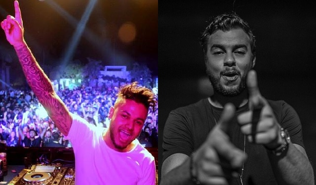 The DJs and producers Sandro Silva and Quintino
